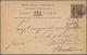 Ceylon / Sri Lanka: 1885 Postal Stationery Card 10c. Brown Used From Colombo To NETHERLANDS INDIES, - Sri Lanka (Ceylon) (1948-...)