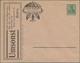 Thematik: Anzeigenganzsachen / Advertising Postal Stationery: 1902 (approx.), German Reich. Private - Briefmarken