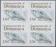 Thematik: Tiere-Meerestiere / Animals-sea Animals: 2006, Dominica. Imperforate Block Of 4 For The 15 - Mundo Aquatico