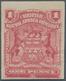 Britische Südafrika-Gesellschaft: 1898-1908 1d. Rose IMPERFORATED Single, Mounted Mint, Fresh And Fi - Otros