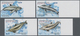 Dominica: 2009, Dolphins Complete IMPERFORATE Set Of Four From Right Margins, Mint Never Hinged And - Dominica (1978-...)