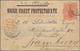 Nigerküste: 1898, Stationery Card 1 P. Red, H&G P3, Sent From OLD CALABAR DE/6 1898 With SS Olenda V - Niger (1921-1944)