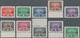 Venezuela - Stempelmarken: 1940 (ca.), Ten Different Revenue Stamps 'SEGURO SOCIAL OBLIGATORIO' (soc - Venezuela