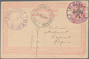 Albanien - Ganzsachen: 1913, Postal Stationery Card, 20 Pa With INVERTED Double Headed Eagle Overpri - Albanie