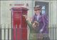 """Großbritannien - Guernsey: 2016, Miniature Sheet """"Pillar Box In Der Union Street"""" In Original Size, - Guernsey"""