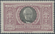 Italien: 1923, Manzoni, 5l. Lilac/black, Fresh Colour And Well Perforated, Mint Original Gum With Ve - 1861-78 Vittorio Emanuele II