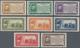 San Marino: 1932, Guiseppe Garibaldi, Sassone 168/175 Mint Never Hinged. Catalogue Value 1750 € - Saint-Marin