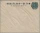 Sowjetunion - Ganzsachen: 1922, Unused Postal Stationery Envelope 14 Kop. Green On Cream Paper With - 1923-1991 UdSSR