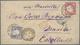 Deutsches Reich - Brustschild: POST NACH DEN PHILIPPINEN: Großer Schild 1 Gr. Karmin (kl. Unauffälli - Alemania