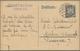 Deutsches Reich - Ganzsachen: 1924, Bedarfs- Und Portogerecht Verwendete Beidseitig Geähnte Ganzsach - Enteros Postales