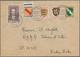 Französische Zone - Allgemeine Ausgabe: 1945, Freimarken Wappen, Umschlag Mit 10 Pf, 12 Pf, 20 Pf, 3 - Zona Francesa