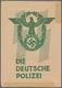 Ansichtskarten: Propaganda: Die Deutsche Polizei / The German Police SS Propaganda Card Set (four Ca - Political Parties & Elections