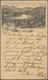 Ansichtskarten: Vorläufer: 1886, Gruss Aus Salzburg, Gebrauchte Vorläuferkarte, Die Marke Ist Leider - Cartes Postales