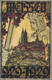 Ansichtskarten: Sachsen: MEISSEN (alte PLZ 8250), Kolorierte Festpostkarte Jahrtausendfeier 1929, Un - Duitsland