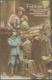 """Ansichtskarten: Motive / Thematics: 1.WELTKRIEG FRANKREICH, 1914/1918, """"Wann Werden Wir Uns Wiederse - Postales"""