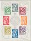 Portugiesische Kolonien: 1951, Holy Year, Omnibus Issues Souvenir Sheets Michel No. 1 And 2, Four Co - Colonies Portugaises Et Dépendances - Non Classés