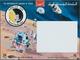 "Thematik: Raumfahrt / Astronautics: 1969, Yemen, Gold Issue ""Apollo 12"", Imperf. Souvenir Sheet With - Espace"