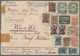 """Russland: 1922, """"45 Rbl. Airmail"""" On R-flight Cover With Mixed Franking On Front/back Old/new Curren - 1857-1916 Impero"""