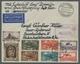 Zeppelinpost Deutschland: 1931, 2. Südamerikafahrt, Zuleitung SAARGEBIET, Ungewöhnlicher Brief Ab Sa - Airmail