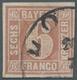 Bayern - Marken Und Briefe: 1849, Freimarke 6 Kreuzer Lebhaftrötlichbraun Mit Unterbrochnem Kreis (T - Bayern (Baviera)