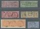 Norddeutscher Bund - Marken Und Briefe: 1868, 1/4 Gr. Bis 5 Gr. In Einheiten, Meist Sauber Gestempel - Conf. De L' All. Du Nord