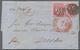 Nachlässe: 1860er-1930er Jahre: Kleine Partie Von 60 Belegen Aus Aller Welt, Dabei Vier Frühe Briefe - Stamps