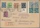 Deutschland Nach 1945: 1948/1965, 120 Briefe Und Ganzsachen, Dabei 10-fach Frankaturen, Paketkarten, - Collections