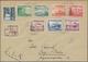 Deutschland: 1897/1945, Substanzreicher Briefposten Deutsches Reich Mit Nebengebieten Und Einigen Au - Collezioni