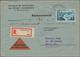 Saarland (1947/56): 1945/1958, Partie Von 60 Bedarfs-Briefen/-Karten Ab Etwas Gebühr Bezahlt Und Frz - 1947-56 Occupazione Alleata
