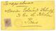 1883 PORTO-RICO 8c Obl. Cachet Français UNION PAYS D' OUTREMER LE HAVRE En Rouge Sur Lettre Pour PARIS. Trés Rare. Super - Storia Postale