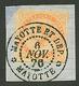 MAYOTTE : CG 40c AIGLE Obl. Centrale MAYOTTE ET DEP. MAYOTTE Sur Fragment. Superbe. - Zonder Classificatie