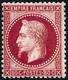 ** N°32 80c Rose - TB - 1863-1870 Napoléon III. Laure