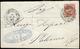 ALESSANDRIA D'EGITTO 1882 - 2 Cent. De Le Rue Soprastampato (2), Perfetto, Isolato Su Sovracoperta D... - 11. Uffici Postali All'estero