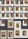 Ajman 05.03.1968 Mi # 225-34 AB Bl 24-26, Numbered 24-26; Paintings, Rubens, Dürer, Vermeer Etc MNH OG - Otros