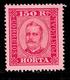 ! ! Horta - 1892 D. Carlos 150 R (Perf. 13 1/2) - Af. 10 - MH - Horta