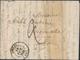 LAC M. POSTALES 19ème Siècle - HAUT-RHIN (Dépt 66) - LAC - Pli De SOULTZ - T14 - 18/10/1841 - Pour Ribeauvillé - B/TB - Poststempel (Briefe)
