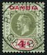 O Gambia - Lot No.444 - Gambie (...-1964)