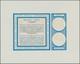 Belgien: 1966. Essay Coloured Cobalt-blue With Light-chrome-yellow Background Illustrations For 8 Fr - Belgique