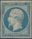 Frankreich: 1853, Empire Nd 25c. Blue, Fresh Colour, Full Magins, Mint Original Gum With Hinge Remna - Francia