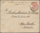 Österreich - Ganzsachen: 1884, Destination Brasilien: Ganzsachenumschlag 5 Kr. Rosa Mit Rs. Zusatzfr - Postwaardestukken