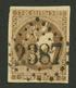 MONACO : 30c BORDEAUX (n°47) Petite Réparation Obl. GC 2387. Rare Sur Ce Timbre. Superbe. - France (former Colonies & Protectorates)