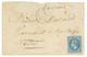 """BALLON MONTE : 20c (n°29) Obl. ARAN + ARMEE DU RHIN 25 Oct 70 Sur Enveloppe Pour MONTAIGU (2 Nov ). Pli Transporté Par """" - Marcophilie (Lettres)"""