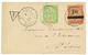SENEGAL : 1904 5c Obl. ST LOUIS Sur Enveloppe Locale Taxée Avec TAXE 10 S/ 1F Rose S/ Paille (n°3). Timbre Rarissime Sur - Sénégal (1887-1944)