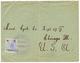 1 P Canc. NAVIGAZIONE GEN. ITALIANA PIROSCAFO S.GIORGIO / FLORIO RUBATTINO On Envelope (flap Missing) To USA. Very Scarc - Autriche