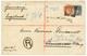 BRITISH EAST AFRICA : 1894 2a + 8a Canc. LAMU On Envelope To GERMANY. RARE. Vvf. - Kenya, Uganda & Tanganyika