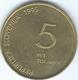 Slovenia - 1995 - 5 Tolarjev - 50th Anniversary Of The End Of WWII - KM22 - Slovenia