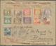 Niederländisch-Indien: 1922, 1 C - 20 C '3de N.I.Jaarbeurs Bandoeng 1923', Complete Set With 11 Stam - Nederlands-Indië