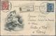 "Thematik: UPU / United Postal Union: Italien 1906, Kongreß-Postkarte ""Vnione Postale Vniversale Roma - U.P.U."