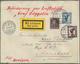 Zeppelinpost Deutschland: 1930, ZEPPELIN SCHWEIZFAHRT Vom 12.4. Mit Bordstempel Via Bern An Fremdenl - Luchtpost