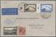 Zeppelinpost Europa: 1928, Luxemburg: Zuleitung Zur Amerikafahrt 1928 Mit Luxemburg 2 Fr. Stadtansic - Autres - Europe